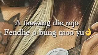 YoungBoss-Je Wisi (Lyrics Video)