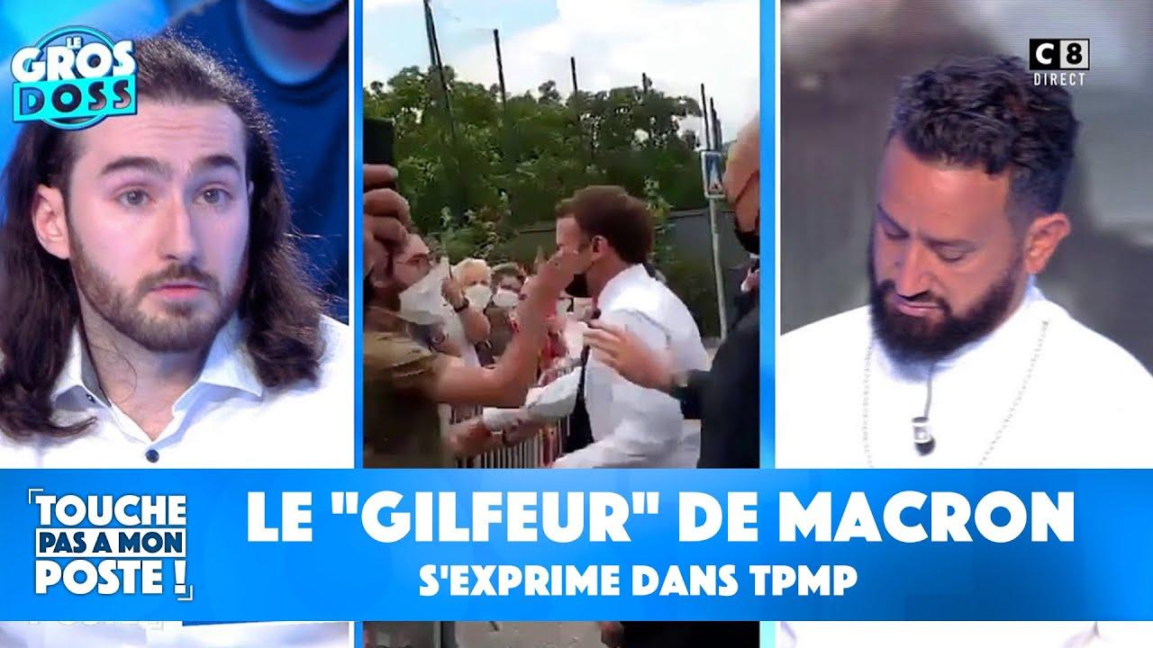 """Le """"gilfeur"""" d'Emmanuel Macron s'exprime dans TPMP"""