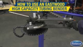 How to Bend Tubing for Roll Cages - Go Cart Chassis & More! High Capacity Tubing Bender - Eastwood