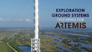 EGS Striving Toward Launch of Artemis I by Kennedy Space Center