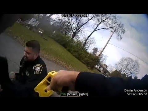 Cop tasert Kollegen