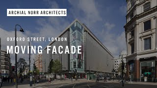 preview picture of video 'Moving facade at Debenhams flagship store, Oxford Street, London. Shot for Wates Construction'