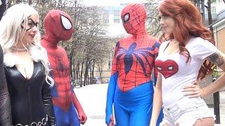 SPIDER-MAN: Spider-Verse Civil War! Real Life Superhero Movie - TheSeanWardShow   Kholo.pk
