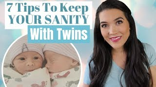 HAVING TWINS?? Tips For New Parents of Twins | How to Have Twins & Keep Your Sanity!