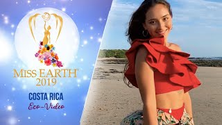 Linda Avila Miss Earth Costa Rica 2019 Eco Video