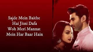 Kalank Bonus Track (LYRICS) | Madhuri, Sonakshi   - YouTube