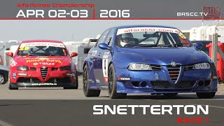 Production_Cars - Snetterton2016 R01 Full Highlights