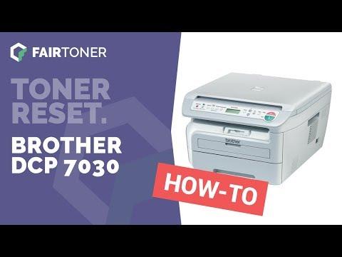 Anleitung: Brother DCP 7030 Toner Reset ✅🛠