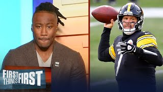 Big Ben must lean on the Steelers' run game & defense - Brandon | NFL | FIRST THINGS FIRST