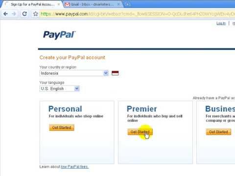 Video Bagaimana Cara Daftar Paypal