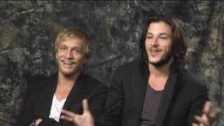 Гаспар Ульель, Gaspard Ulliel and Jeremie Renier about The Vintners Luck