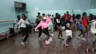 Koffee   Toast (Official Dance Class Video) | @nedyparezo ANY BODY CAN DANCE KENYA