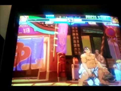 Street Fighter Zero 3 Upper | SEGA NAOMI | HD | DEMUL EMULATOR