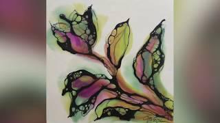 Flora By Encaustic Artist Joy Hagen