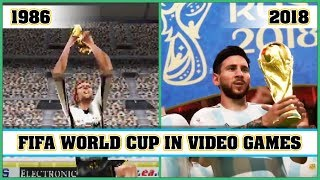 FIFA WORLD CUP video games evolution [1986 - 2018]