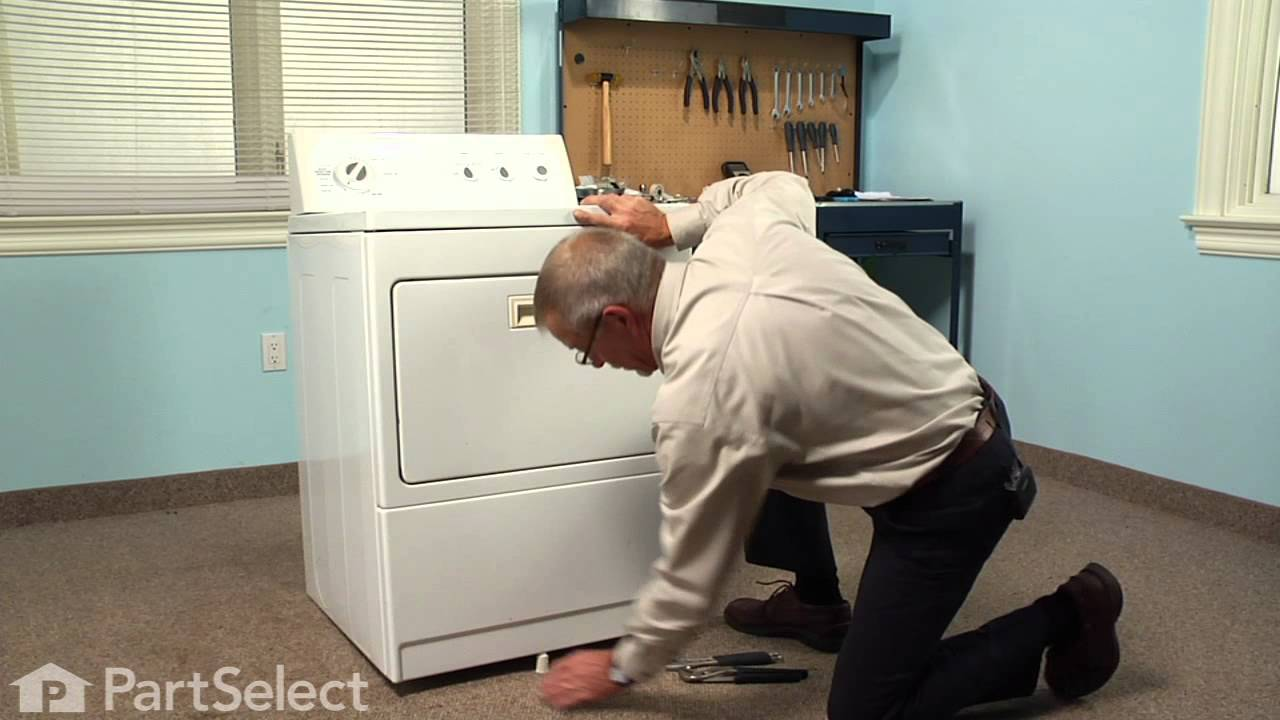 Replacing your Kenmore Dryer Leveling Foot