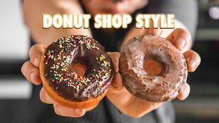 Making Easy Classic Donuts At Home