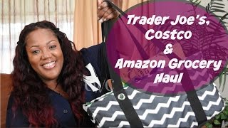 Trader Joe's Costco and Amazon Grocery Haul & Chit Chat  Cooking With Carolyn