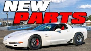 C5 Unicorn gets NEW PARTS and chases an 8 second pass!