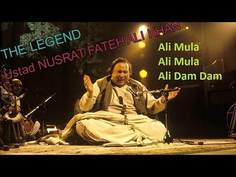 Ali Maula Ali Maula Ali Dam Dam With Lyrics Ustad Nusrat