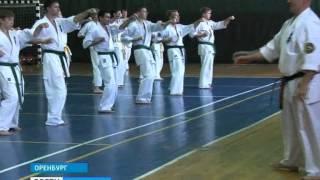 Сергей Якунин провёл семинар по карате кёкусинкай в Оренбурге