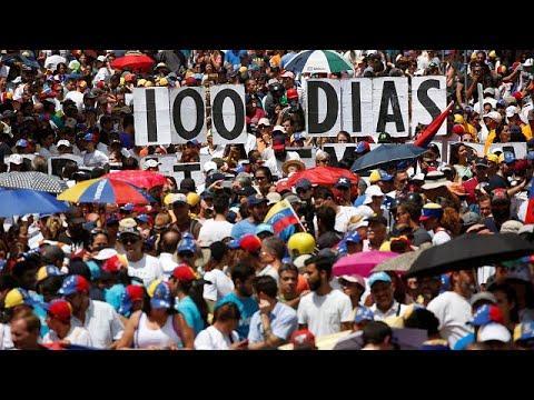 Bενεζουέλα: 100 ημέρες διαδηλώσεων