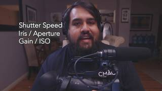 CMAC Kits: Sony X70 & Z90 Camcorder – Manual Exposure