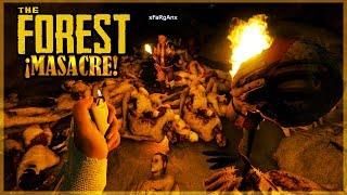 ENCONTRAMOS MAS DE 100 CUERPOS - THE FOREST #11