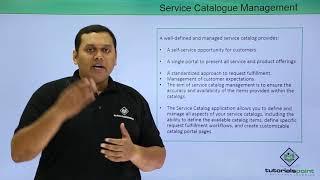 Service Catalogue Management