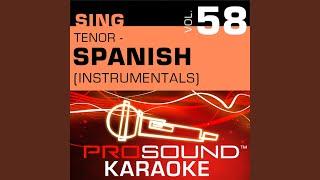 Solo Tu Imagen (Karaoke Instrumental Track) (In the Style of John Secada)