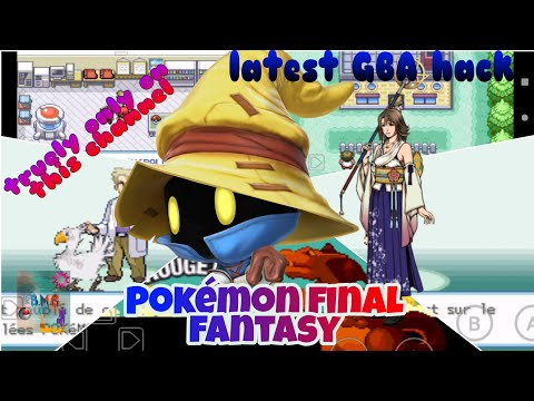 POKÉMON Latest GBA rom hack only available at this channel || BLACKMAGIC GAMER...|| Released today..