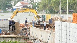 Phạt và đình chỉ thi công một đơn vị xây dựng sai phép tại TP. Hồ Chí Minh