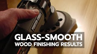 WOOD FINISHING: Glass Smooth Results With Polyurethane