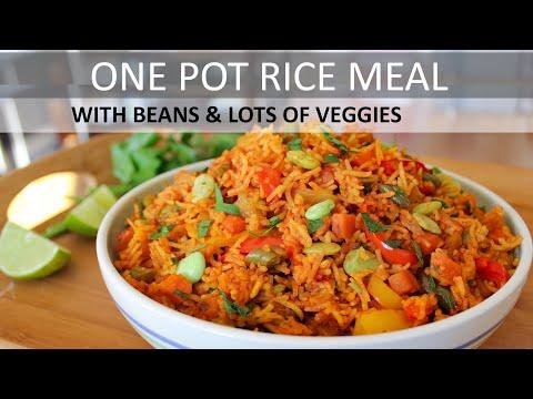 Vegetable Rice Recipe (Vegan)   Plant Based Diet   Vegan Rice Recipe   How to make Vegetable Rice