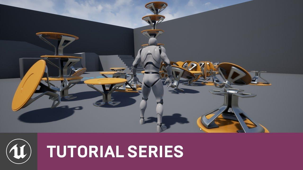 Blueprint Quickshot: Spawning Physics Actors | 04 | v4.7 Tutorial Series | Unreal Engine