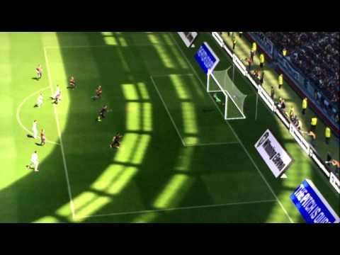 PES 2015 freekick Ronaldo