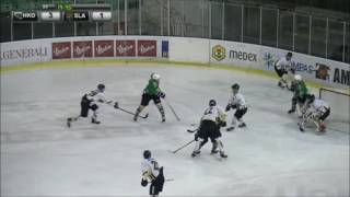 U-20 EBYSL 23.2.2017 HK Olimpija – HK Slavija Junior 5:1, povzetki s tekme