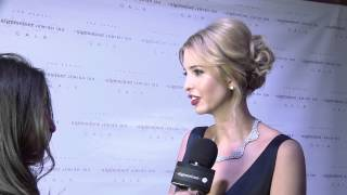 Algemeiner 'Jewish 100' Gala 2015: Red Carpet Interviews with Donald and Ivanka Trump