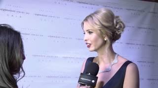 Algemeiner 'Jewish 100' Gala 2015: Red Carpet Interviews with Donald and Ivanka Trump