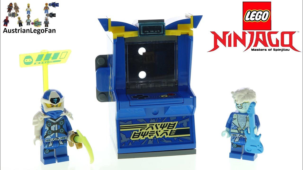 LEGO Ninjago 71715 Jay Avatar - Arcade Pod - Lego Speed Build Review