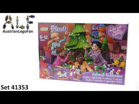 Vidéo LEGO Friends 41353 : Calendrier de l'Avent LEGO Friends 2018
