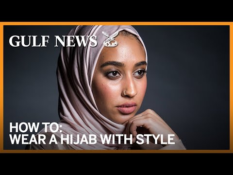 Wear a hijab with style