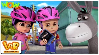 Vir The Robot Boy | Hindi Cartoon For Kids | Vir Vs Cosmic Wolf Power | Animated Series| Wow Kidz