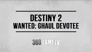 Destiny 2 Wanted: Ghaul Devotee (HVT Lost Oasis on IO) - Spider Wanted Bounty Locations Guide