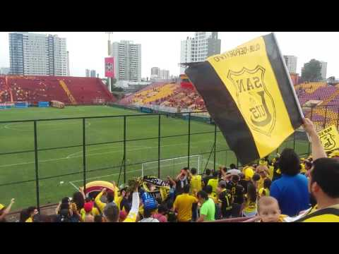 """Hinchada San Luis De Quillota - Union Española Vs San Luis - Clausura Chile 2016"" Barra: Ultra Kanaria • Club: San Luis de Quillota"