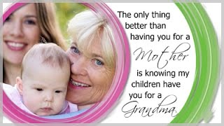 Mother Grandmother Quote Slide Style