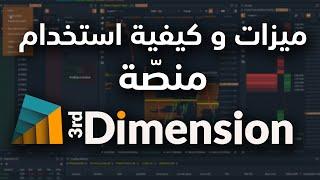Third Dimension Trading Platform كيف تستخدم منصة البعد الثالث
