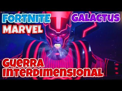 FORTNITE - EVENTO INCRIVEL DA MARVEL!!! BATALHA CONTRA GALACTUS [Gameplay PC em PT-BR]
