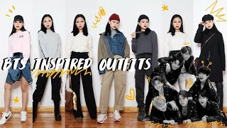 HOW TO DRESS LIKE BTS (방탄소년단) // INSPIRED OUTFITS