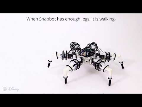 Snapbot: A Reconfigurable Legged Robot